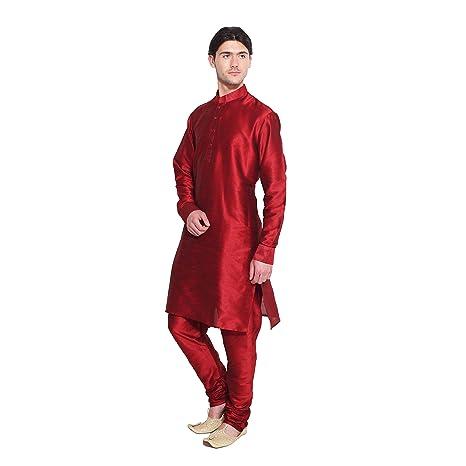 Bollywood Conjunto de pijama Kurta para hombre, estilo étnico, de ...