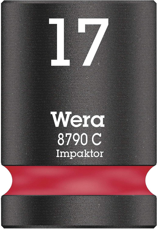 21.0 mm Wera 05004578001 Llave de Vaso 1//2 Verde fosforito