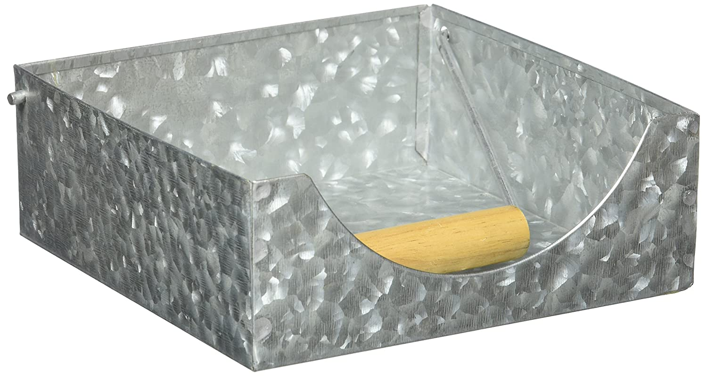 Amazon.com: Luxe – Acero galvanizado – Servilletero: Kitchen ...