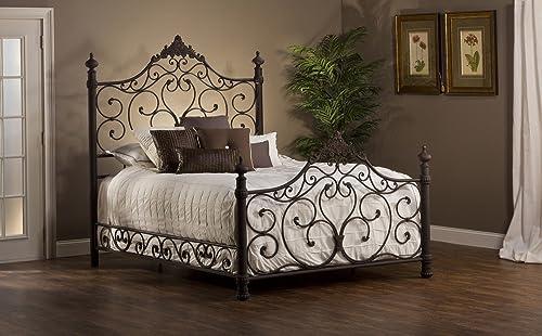 Hillsdale Furniutre Baremore Bed, Queen, Antique Brown