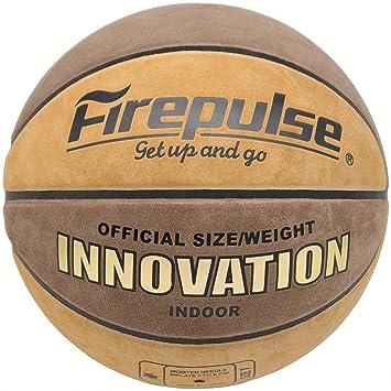 Amazon.com: FIREPULSE Innovation Balón de baloncesto, tamaño ...