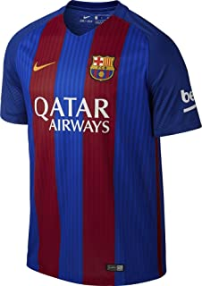 Nike Barcelona 2017 Home Soccer Jersey (Blue, Red)
