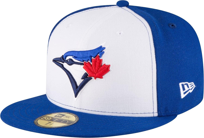 in stock cheap sale cute cheap Amazon.com: New Era 59Fifty Hat Toronto Blue Jays Current Season ...