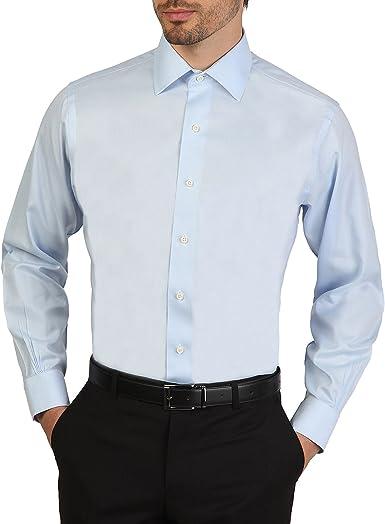Camisa Brooks Brothers 100011512 AZZURRO azul slim - hombre - 44: Amazon.es: Ropa y accesorios