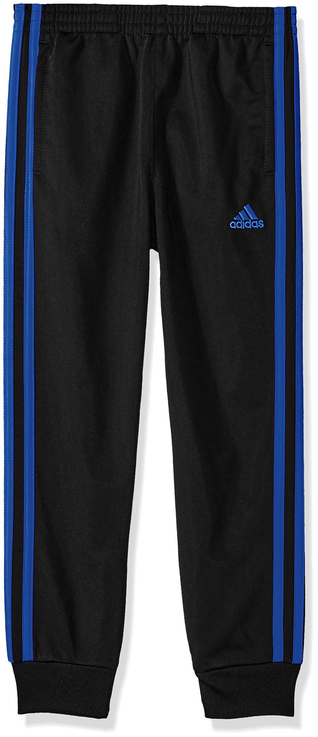 adidas Boys' Little Oldschool Jogger Pant, Black/Blue OS, 4 by adidas