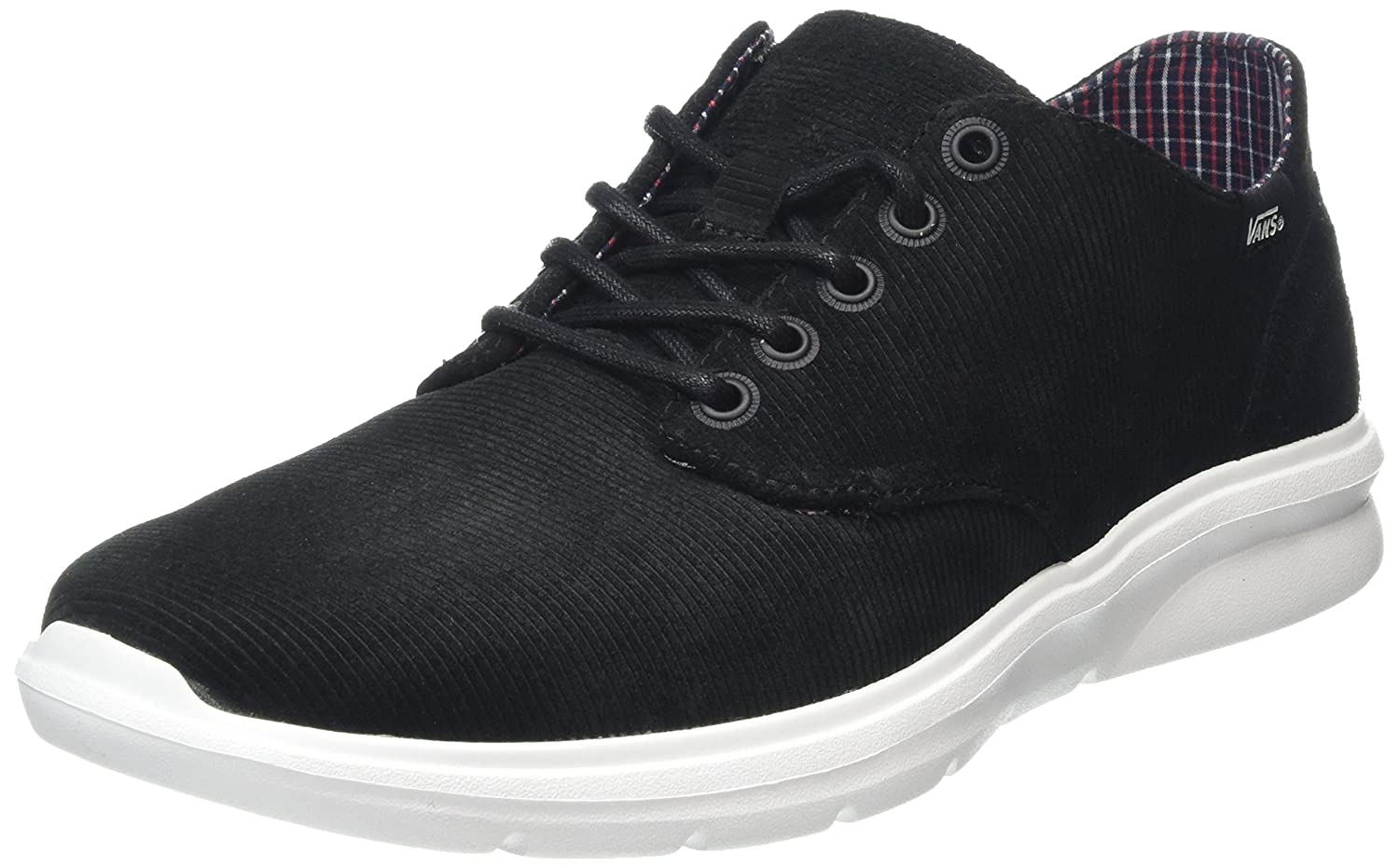 Vans ISO 2, Zapatillas Unisex Adulto 36.5 EU|Negro (Cord & Plaid Black)