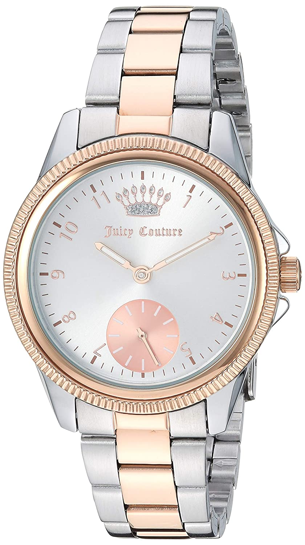 Amazon.com: Juicy Couture JC/1135SVRT - Reloj de pulsera ...