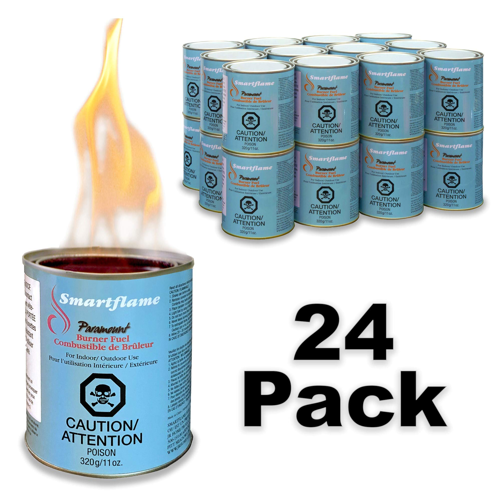 Paramount GF-CAN-07 Smartflame Case of 24 Burner Fuel, 13 oz by Paramount