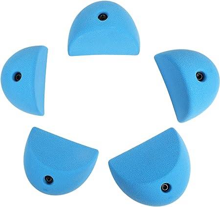 Atomik Climbing Holds Slopers - Sujetadores Planos para Escalada (5 XL), Color Azul
