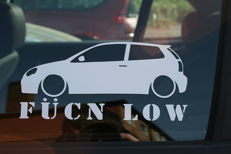 Turnerco Fucn Low Car Sticker - for VW Polo 9n3 Mk7 GTI: Amazon.es ...