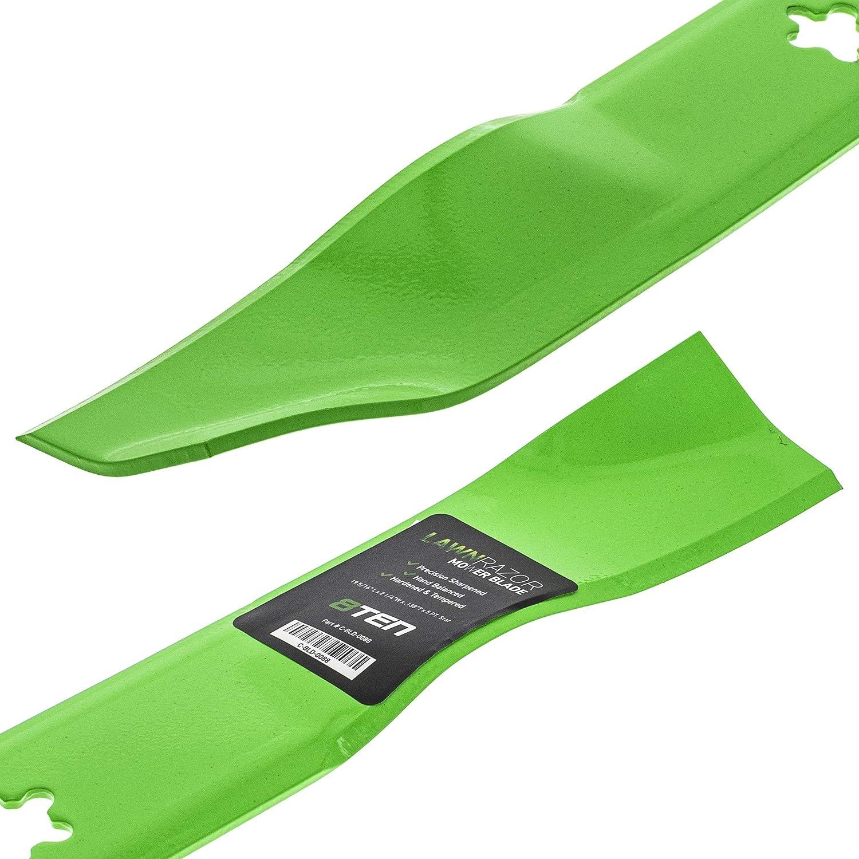 8TEN Mower Blade AYP Husqvarna Poulan 134148 139774 532134148 Mulching Set