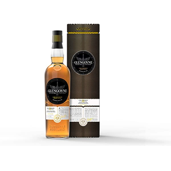 Glengoyne Whisky Cask Strength Highland Single Malt - 700 ml ...