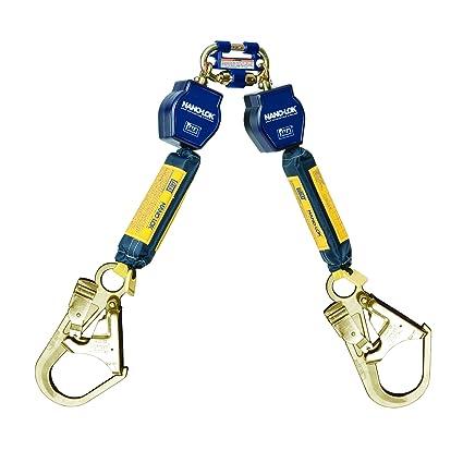 81whAHxI8HL._SX425_ 3m dbi sala nano lok 3101280 twin leg self retracting lifeline, 6