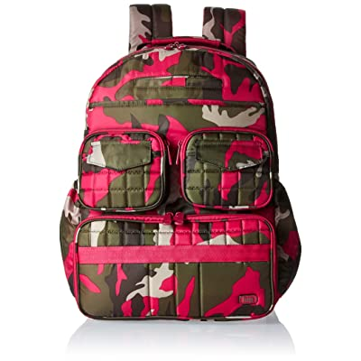 Lug Women's Puddle Jumper Backpack, Camo Pink, One Size