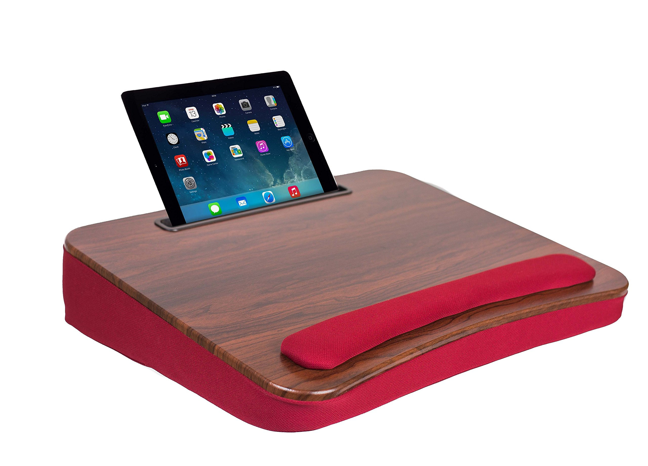 Sofia + Sam Oversized Memory Foam Lap Desk with Tablet slot