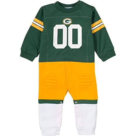 0acab3d34 NFL Green Bay Packers Unisex-Baby Footysuit Coverall
