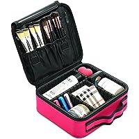 Monstina Makeup Makeup Travel Organizer Bag For Women/Girls (Rose Red)