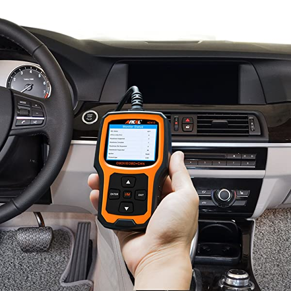 ANCEL AD410 - one of best handheld obd2 scanner