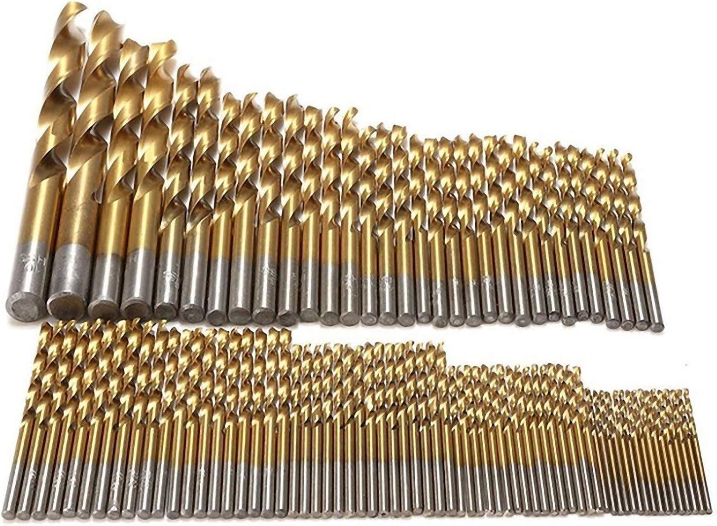 HSS Spiral Edelstahlbohrer Metallbohrer 1-30mm HSS TiN HSS-G HSS-R 1 mm HSS-R 1 St/ück