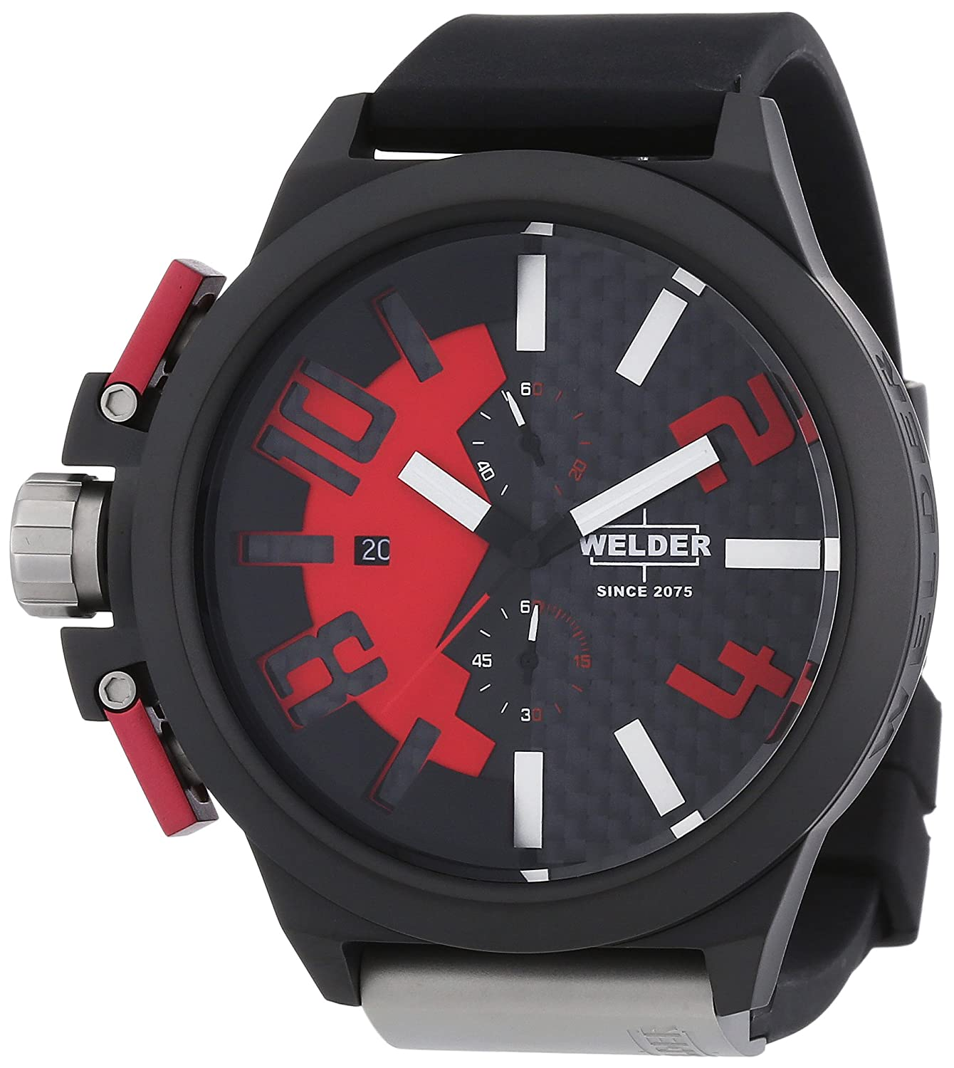 Welder Unisex 2501 K35 Oversize Chronograph Watch