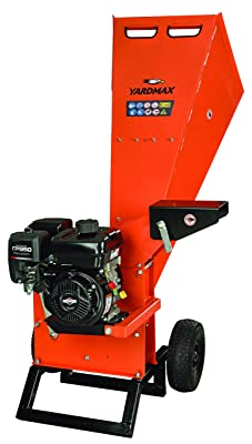 YARDMAX YW7565 Wood Chipper & Shredder