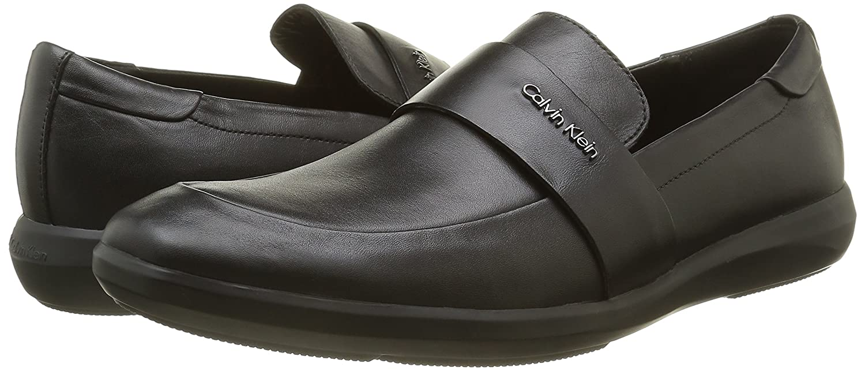 Calvin Klein Zafar Soft Calf, Mocasines para Hombre, Negro (blk), 45 EU: Amazon.es: Zapatos y complementos