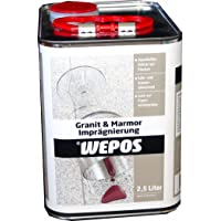 Wepos Granit und Marmor Imprägnierung 2,5 L, 2000200626