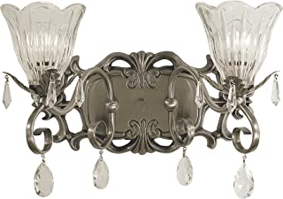 product image for Framburg 2962 BN 2-Light Liebestraum Sconce, Brushed Nickel