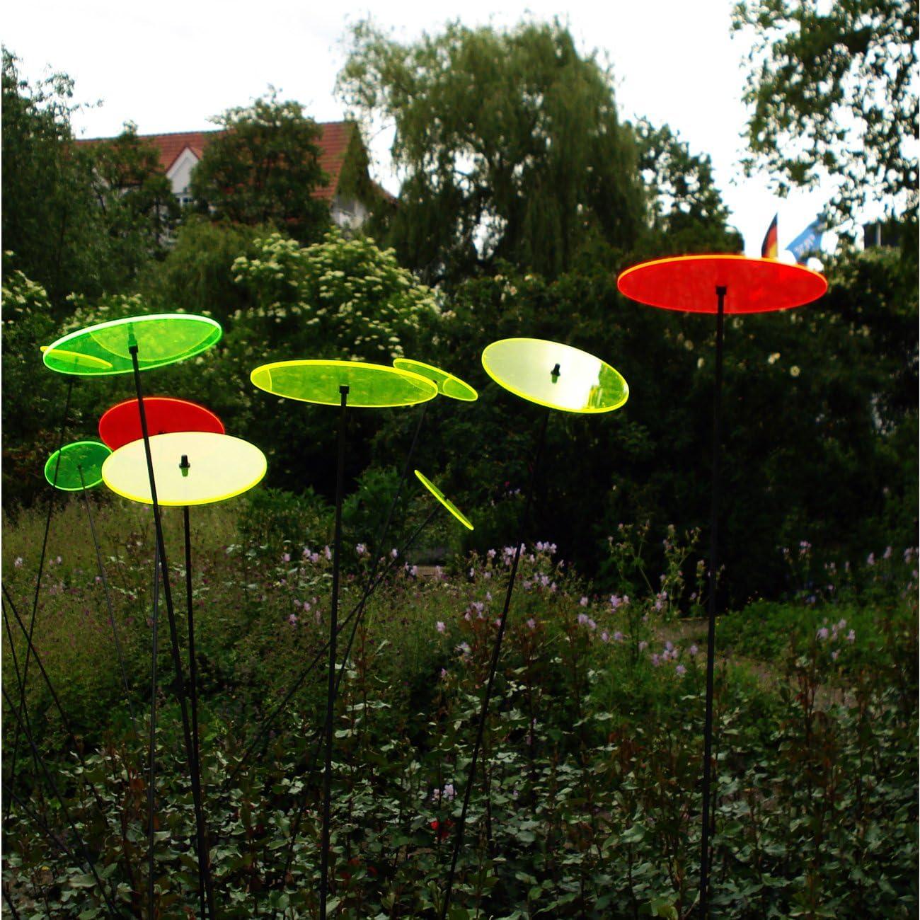 Sol atrapasueños – Juego de luz parabrisas Color Verde Flúor 20 cm & # x3 C6;: Amazon.es: Jardín