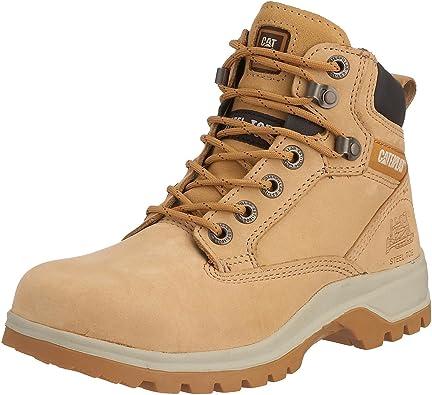 CAT Footwear Kitson Srx S1, Bottes de sécurité Femme, Beige