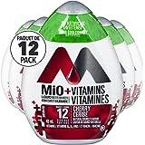 MIO Vitamins Cherry Liquid Water Enhancer, 48ml (Pack of 12), 576 milliliters