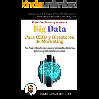 Big Data para CEOs y Directores de Marketing: Como dominar Big Data Analytics en 5 semanas para directivos