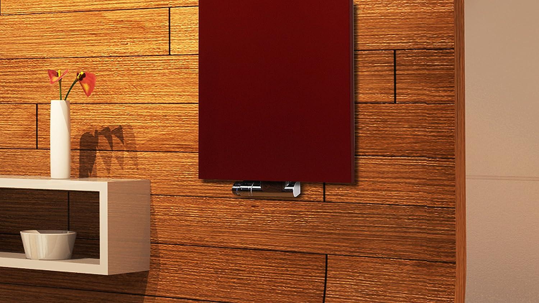 50mm Mittelanschluss wei/ß Marke: Szagato Badheizk/örper Design Mirror Steel 2 HxB: 120 x 47 cm 1 Handtuchhalter 799 Watt Made in Germany // Top-verarbeiteter Bad und Wohnraum-Heizk/örper