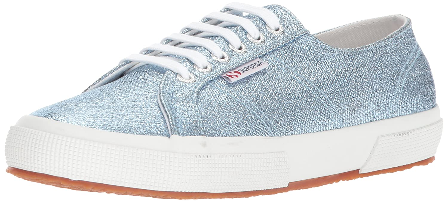 Superga Women's 2750 Qatarmetal Sneaker B06XBM1XV6 40 M EU / 9 B(M) US|Light Blue