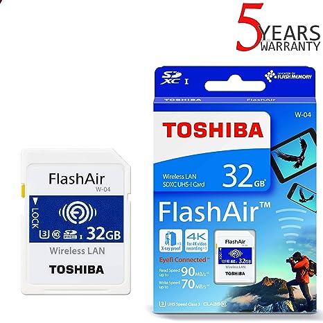 toshiba flashair manual