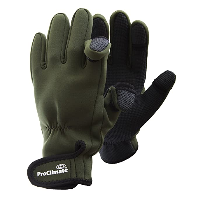 sold worldwide quality products retail prices Mens Neoprene Fishing Gloves (Lightweight Waterproof)