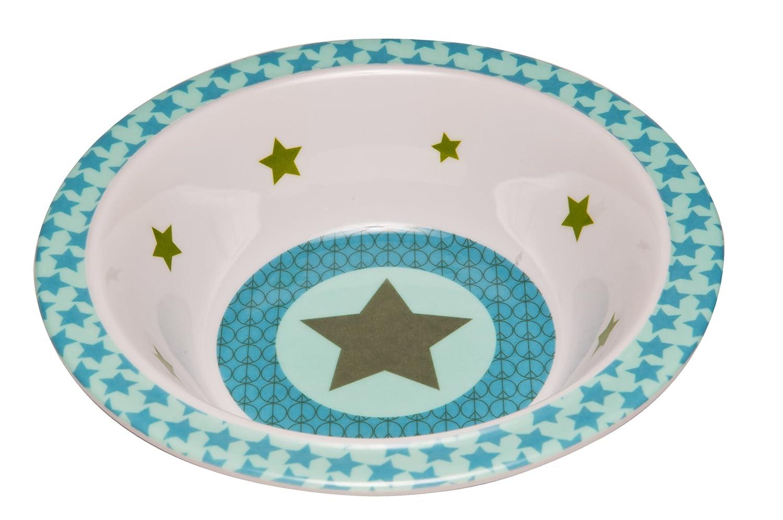 L/ÄSSIG Sch/üssel Kinder Baby Kleinkind rutschfest sp/ülmaschinengeeignet Melamin//Bowl Starlight olive