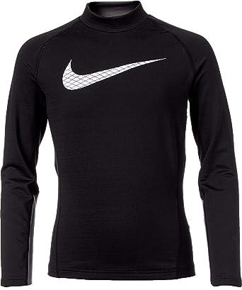 Amazon.com  NIKE Boy s Dri-FIT Mock Neck Compression Shirt  Clothing a65b281f013f