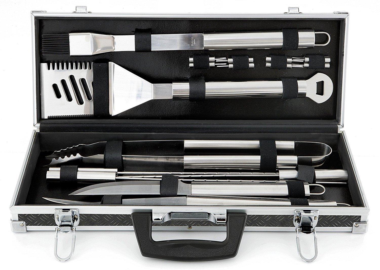 Mr. Bar-B-Q 18-Piece Tool set with Case [並行輸入品]   B01LXPV4EJ