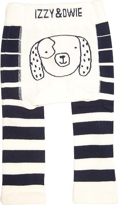Dog Blue 6-12 Month Soft /& Stretchy Baby Striped Leggings Pavilion