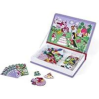 Janod -  J02725 - Magnéti'book princesses, 55 Magnets