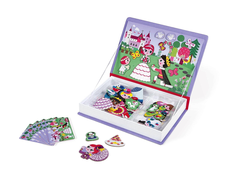 Janod MagnetiBook Principesse, Colore Viola, J02725 Juratoys