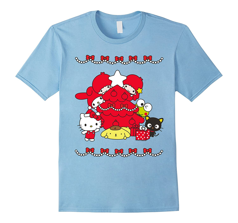 Womens Hello Sanrio Characters Christmas-Veotee