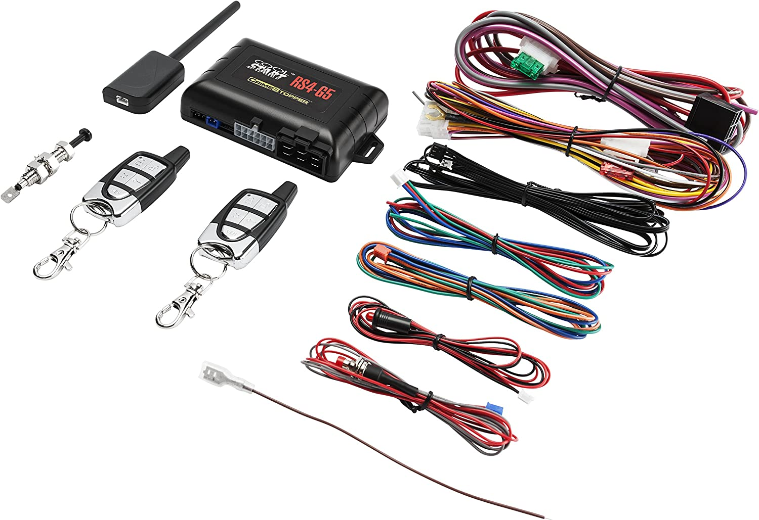 Crimestopper RS4-G5 1-Way Remote Start and Keyless Entry System with Trunk Pop
