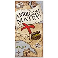 Treasure Map Door Cover