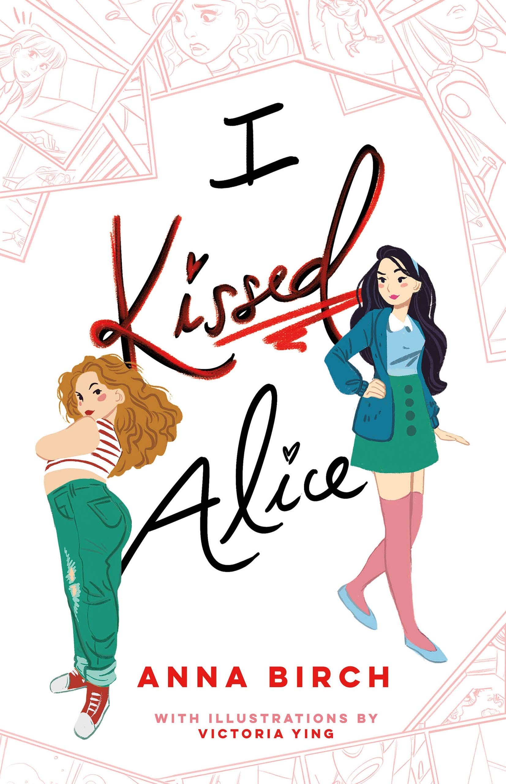 Amazon.com: I Kissed Alice (9781250219855): Birch, Anna, Ying, Victoria:  Books