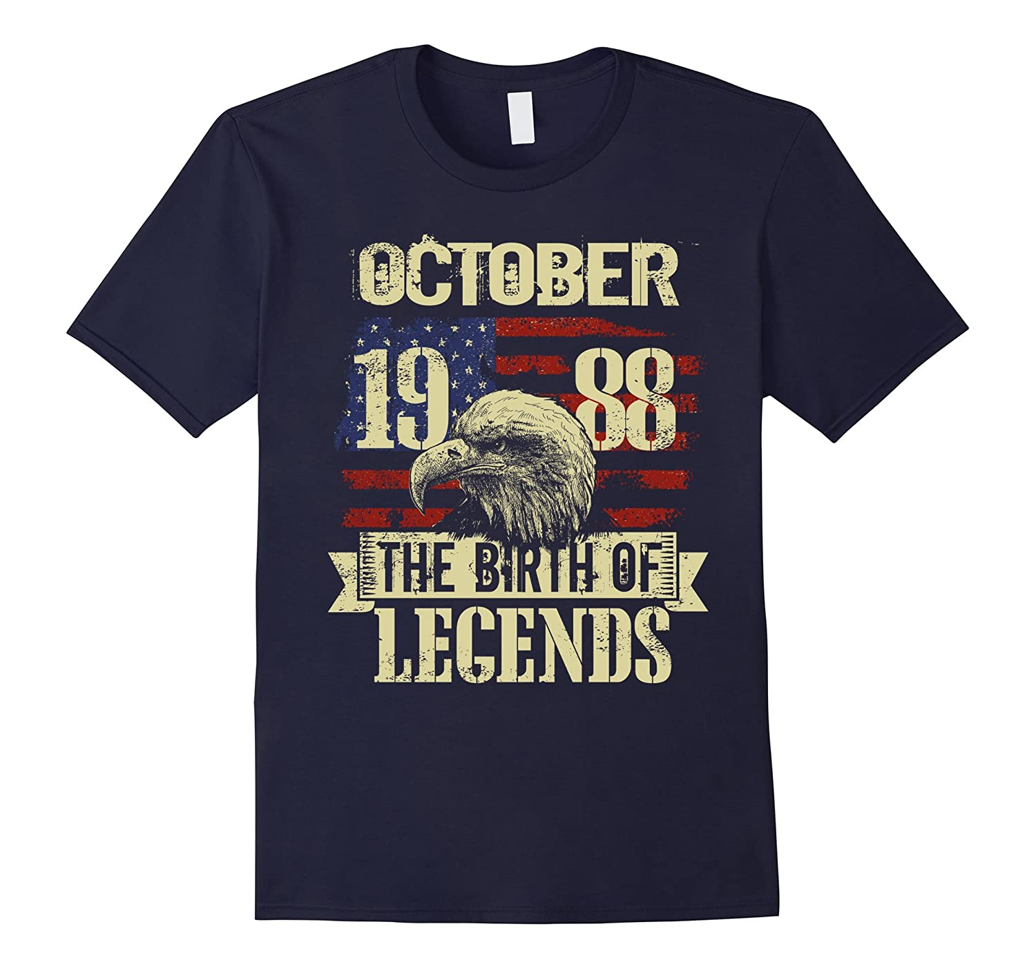 1988 OCTOBER OCT The Birth Of Legends Gift 29 Yrs Years Old-Art
