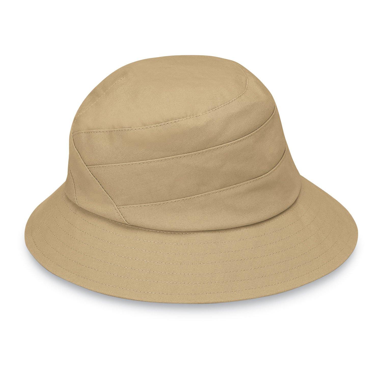 Wallaroo Hat Company Women's Taylor Sun Hat - UPF 50+, Adjustable, Ready for Adventure, Designed in Australia, Tan