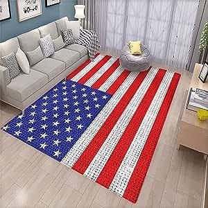 Amazon Com Usa Non Slip Floor Mat Fourth Of July