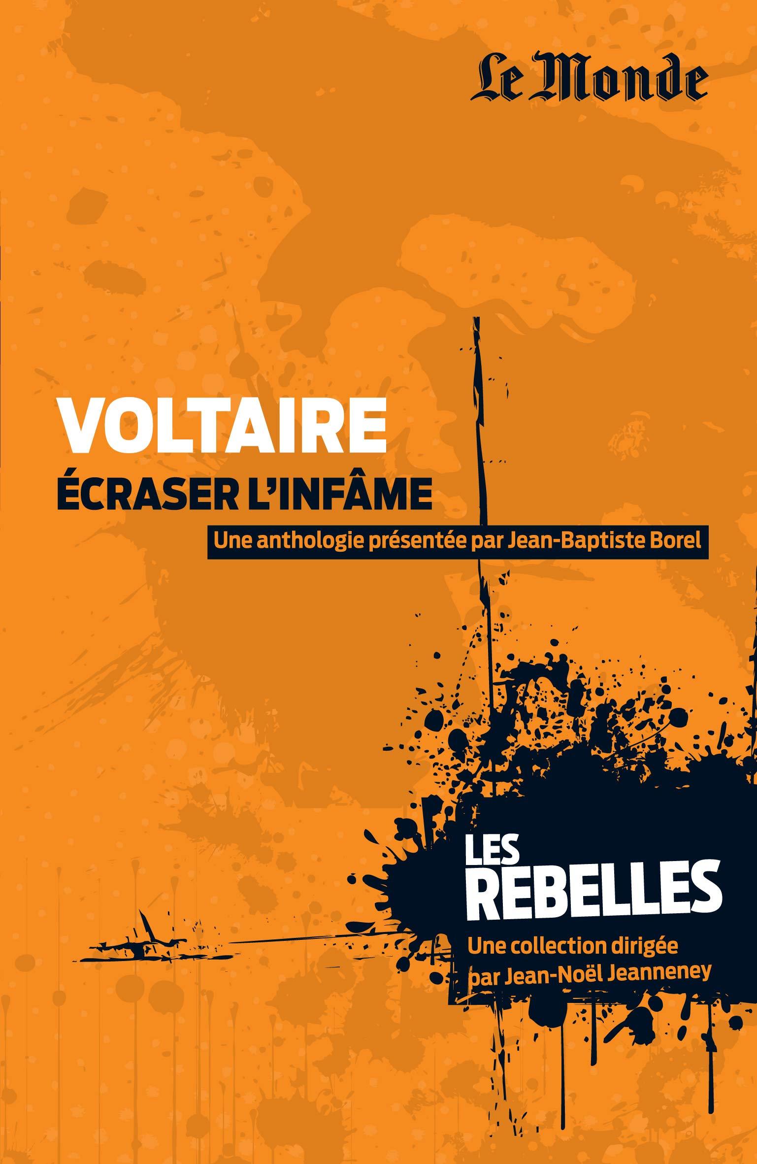 Voltaire, écraser l'infâme: Amazon.fr: Borel, Jean-Baptiste ...